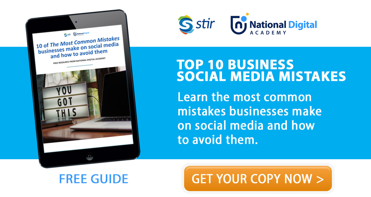 free social media guide - top ten social media mistakes businesses make