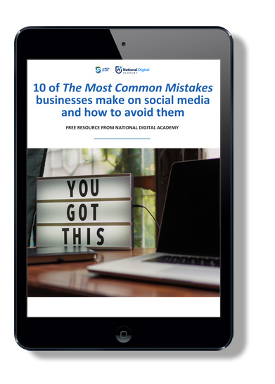 free guide - social media mistakes
