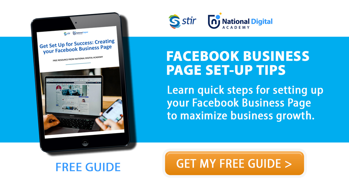 learn how to setup a facebook business page