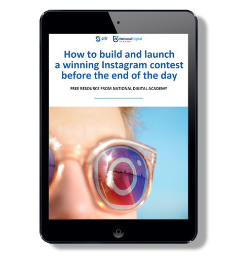 how to build and launch an Instagram contest