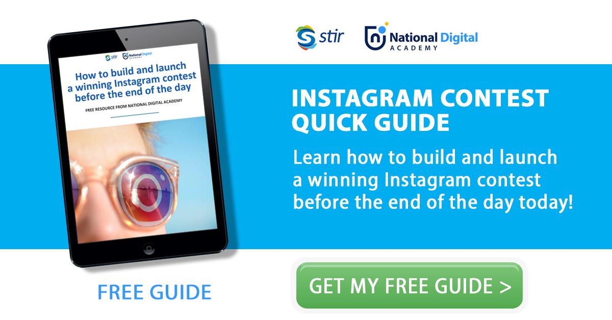 Instagram Contest How To - National Digital Academy